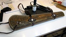 Oak Leaf Rifle Scabboard -view 1.JPG