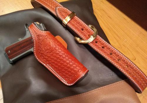 1911 Holster and Custom Belt