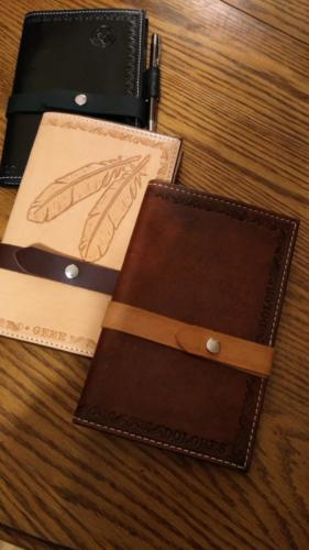Carved Notebook Covers