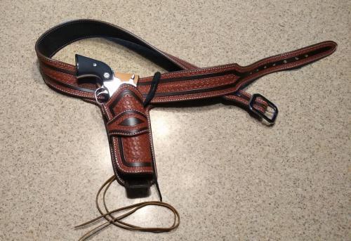 W21: Custom Cowboy Fast Draw Rig