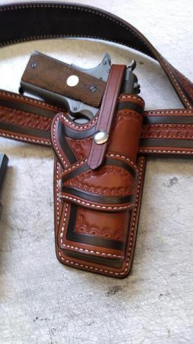 Custom Wild Bunch Holster