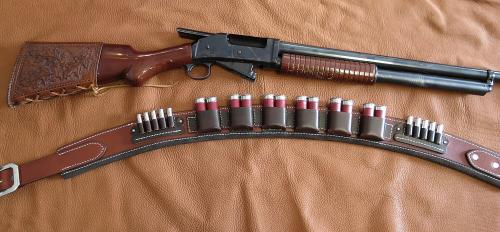 Shotgun Belt With Pouches
