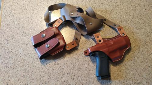 Shoulder Holster and Mag Pouch